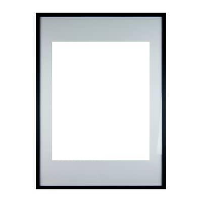 Cornice INSPIRE Milo nero per foto da 50x70 cm