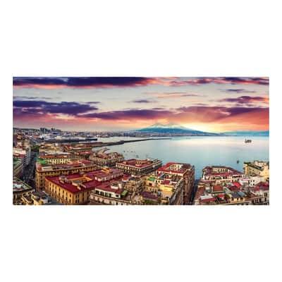 Quadro su tela Napoli Golfo 70x140 cm