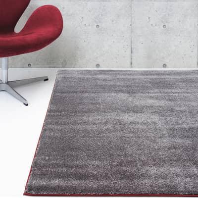 Tappeto Soave Soft plain , grigio, 160x230 cm