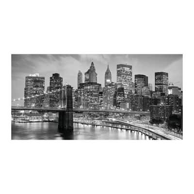 Quadro su tela New York grey 60x120 cm