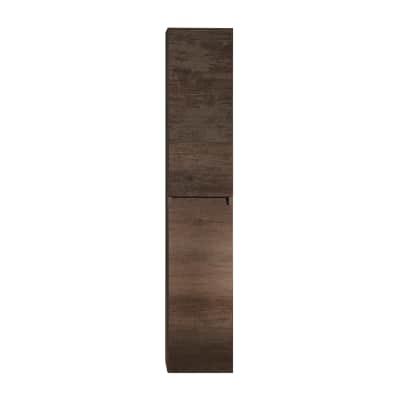 Colonna Kora 2 L 30 x P 27 x H 160 cm rovere scuro tranché