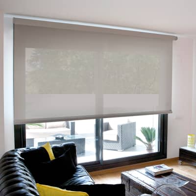 Tenda a rullo INSPIRE Screen grigio perla 150x250 cm
