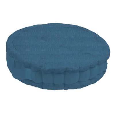 Cuscino da pavimento INSPIRE Ios blu 45x45 cm