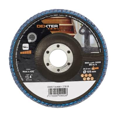 Disco lamellare DEXTER PRO Ø 125 mm grana 120