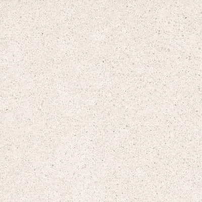 Piano cucina su misura in quarzo composito Virgo bianco , spessore 2 cm