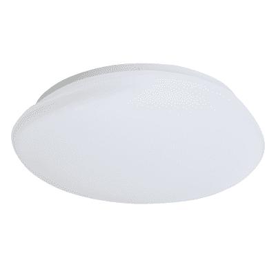 Plafoniera moderno Julia LED integrato bianco D. 40 cm 40x40 cm, INSPIRE