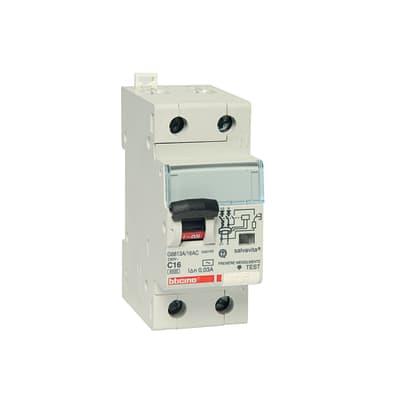 Interruttore magnetotermico BTICINO GC8813AC16 1P +N 16A 2 moduli