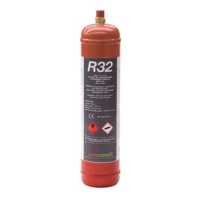 Bombola gas refrigerante climatizzatore R32 1 L 0.8 kg