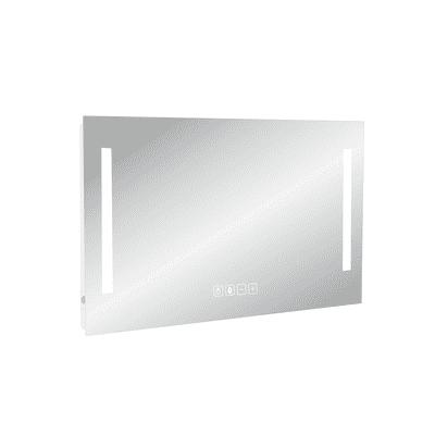 Specchio con illuminazione integrata bagno rettangolare Suono L 90 x H 70 cm SENSEA
