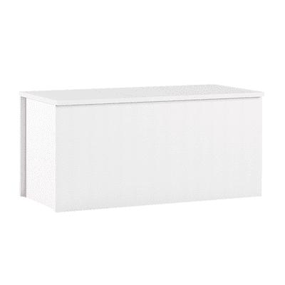 Baule L 90 x H 45 x P 45 cm bianco