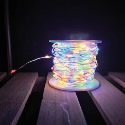 Catena luminosa 300 lampadine LED multicolore 2250 cm