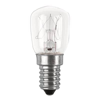 Set di 2  lampadine Alogena, E14, Bulbo, Trasparente, Luce calda, 10W=30LM (equiv 10 W), 360° , OSRAM