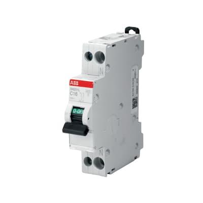 Interruttore magnetotermico ABB ELSN201LC25 1P 25A 4.5kA C 1 modulo 230V