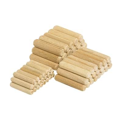 Spine di giunzione WOLFCRAFT in legno  x 30 mm Ø 6 mm