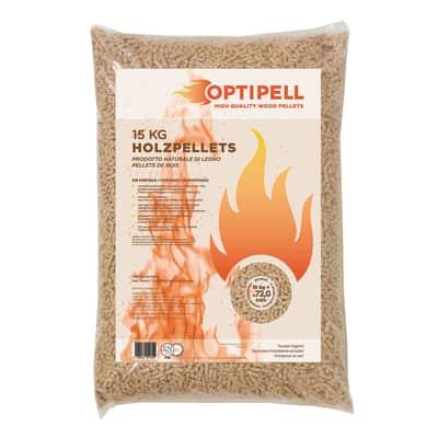 Pellet Optipell ENplus A1 15 kg in abete