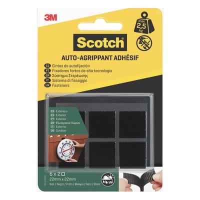 Velcro Adesivo 22 mm x 2.2 cm 12 pezzi