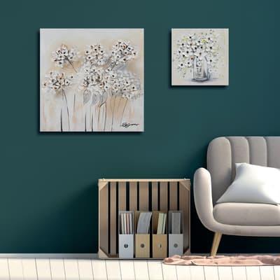 Dipinto originale Fiori 30x30 cm