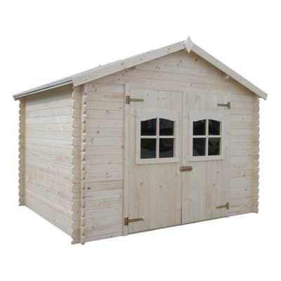 Casetta da giardino in legno Fiesole 8.17 m² spessore 28 mm