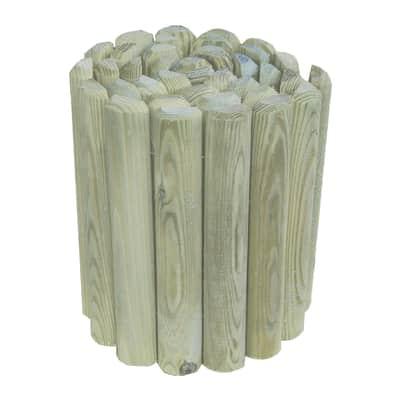 Bordura in rotolo in legno L 180 x H 30 cm Sp 2.3 cm