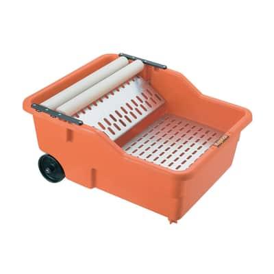 Bacinella in polipropilene 20 L arancione