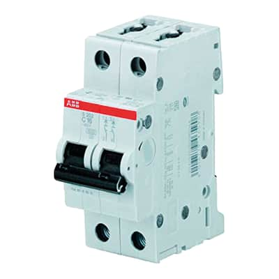 Interruttore magnetotermico ABB S202L C20 1P+N 20A 4.5kA 2 moduli 230V