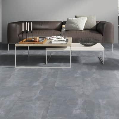 Pavimento spc flottante clic+ Pietra Nova Industrial Sp 4.5 mm grigio / argento