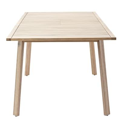 Tavolo da giardino allungabile allungabile rettangolare ...
