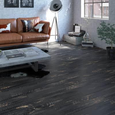 Pavimento PVC flottante clic+ Arey Sp 5 mm nero