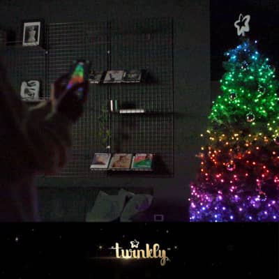 Catena luminosa 250 lampadine LED multicolore TWINKLY 2000 cm