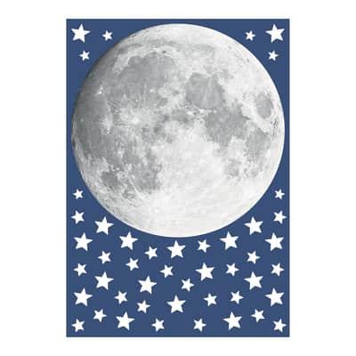 Sticker Glow Moon 47x67 cm