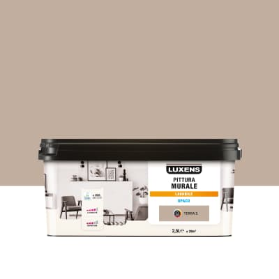 Pittura murale LUXENS 2.5 L beige terra 5