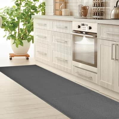 Tappeto Sandy , grigio medio, 57x230 cm