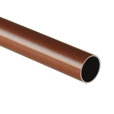 Tubo appendiabiti L 100 x marrone
