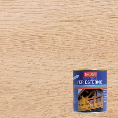 Vernice per legno da esterno liquido SYNTILOR 0.25 L incolore satinato