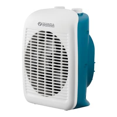 Termoventilatore elettrico OLIMPIA SPLENDID Caldo Relax blu e bianco 2000 W