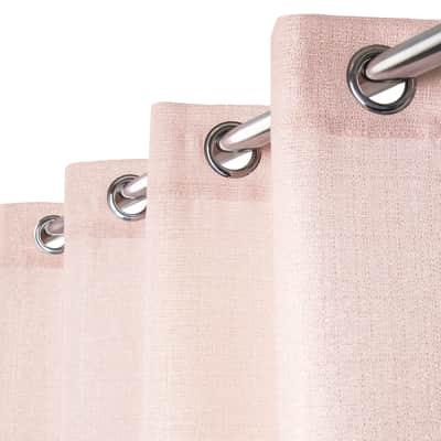 Tenda Lazaro rosa e oro occhielli 140 x 280 cm