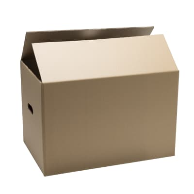 Scatola di cartone per imballare 2 onde L 40 x H 30 x P 30 cm