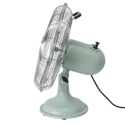 Ventilatore da tavolo EQUATION blu 40 W Ø 30 cm