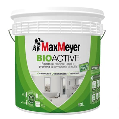 Pittura murale MAX MEYER Bioactive 10 L bianco