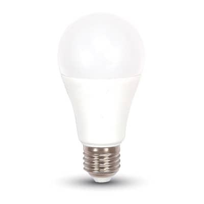 Lampadina LED, E27, Goccia, Opaco, Luce calda, 9W=806LM (equiv 60 W), 200°