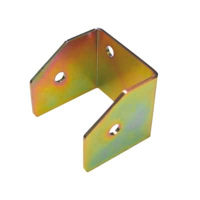Supporto per palo Staffa in acciaio L 7x H 6.5