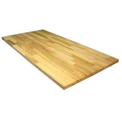 Tavola compensato di legno faggio 1° scelta L 100 x H 50 cm Sp 20 mm