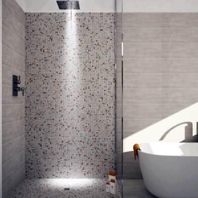 Mosaico Luserna Cipria H 30 x L 30 cm beige