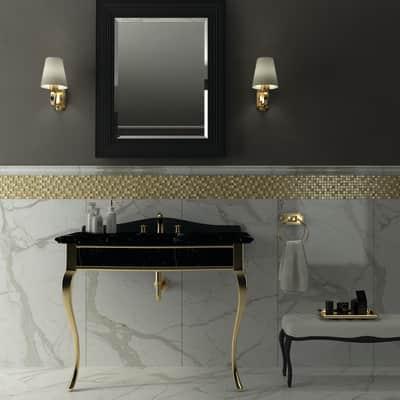 Il Mosaico E Gli Specchi 3.Mosaico Oro Crystal H 30 X L 30 Cm Oro Prezzo Online Leroy Merlin