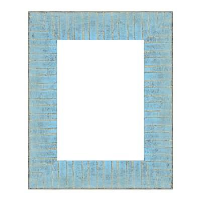 Cornice Medina azzurro<multisep/>oro per foto da 13x18 cm