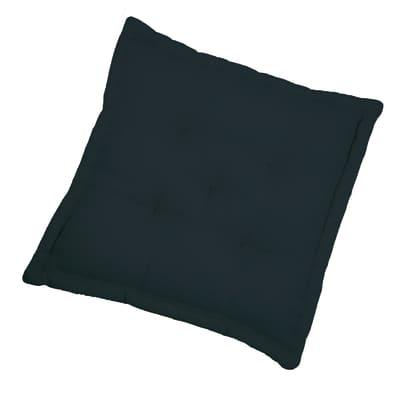 Cuscino da pavimento INSPIRE Elema nero 60x60 cm Ø 0 cm