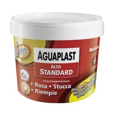 Stucco in pasta AGUAPLAST Alto Standard 1 kg bianco