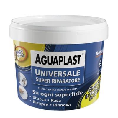 Stucco in pasta AGUAPLAST Super Riparatore 500 g bianco