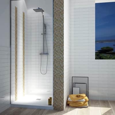 Mosaico H 30 x L 30 cm marrone/beige