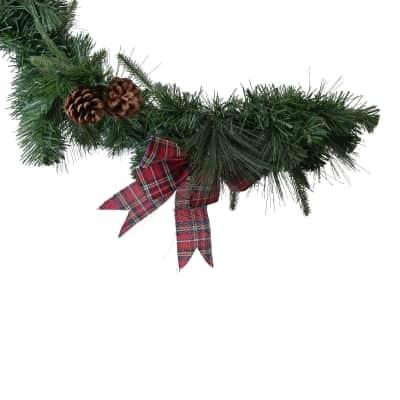 Ghirlanda natalizia Festone verde